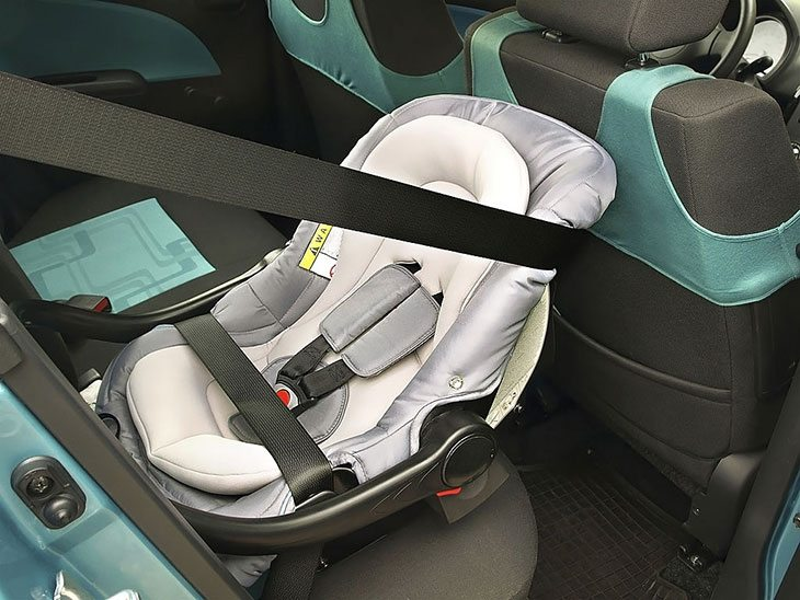 Properly installing your car seat in your vehicle