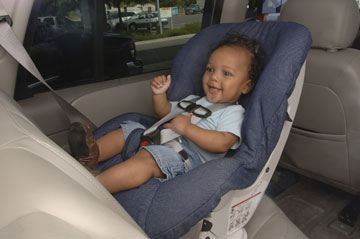 Infants – Rear-facing Car Seats