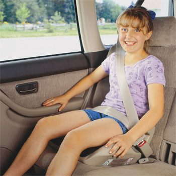 Children Under 4 Feet 9 Inches Tall – Booster Seats