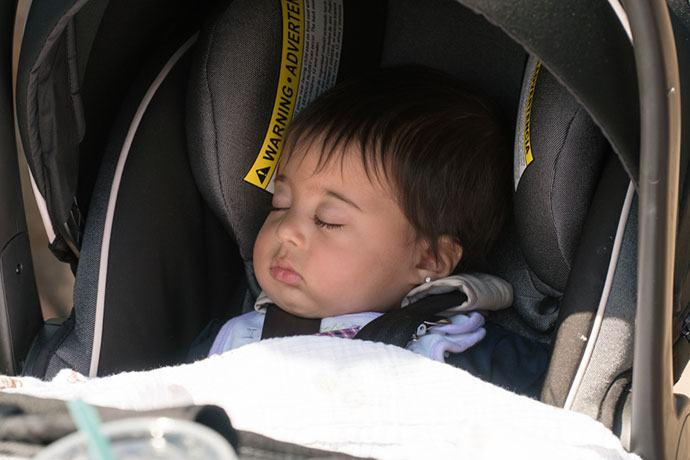 Considering a convertible car seat for a newborn baby?