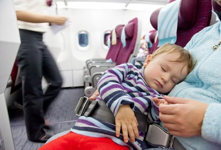 flying with infant on lap southwest