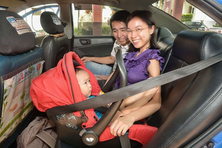 taxis and child car seats