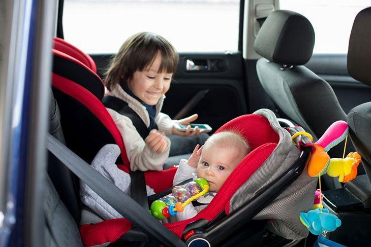california car seat laws taxi