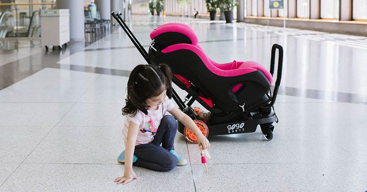 britax car seat carrier for airport