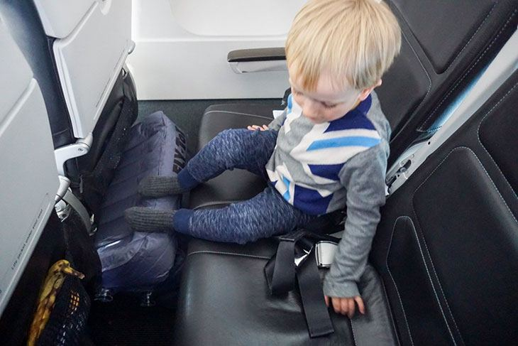 checking a car seat on spirit airlines