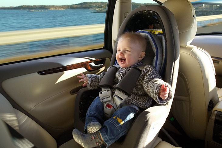 taxis and baby car seats