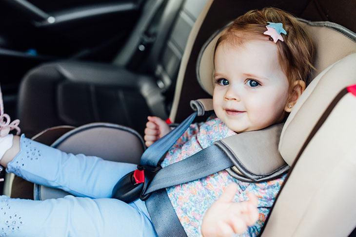 california car seat law accident