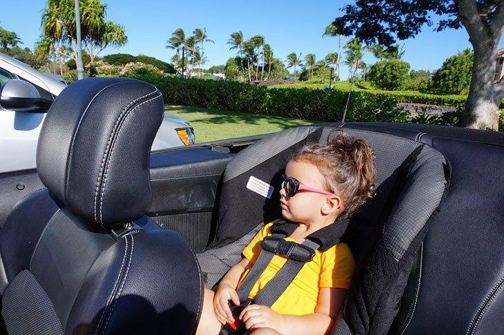 car rental with car seats enterprise