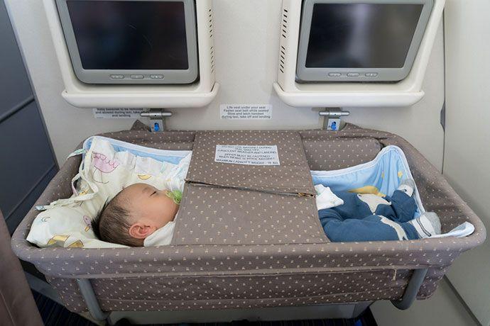 flying with infant on lap southwest
