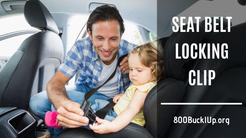 seat belt locking clip