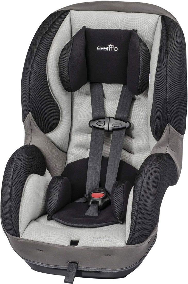 review evenflo sureride dlx convertible car seat