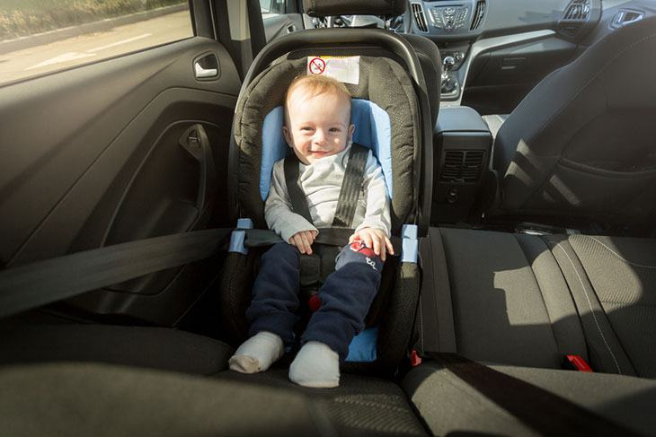 is car seat laws idaho
