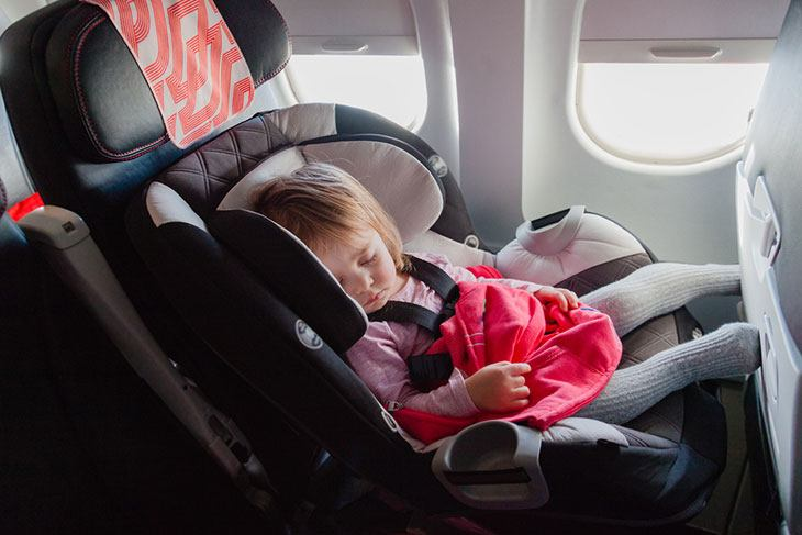 best child seat for airplane travel