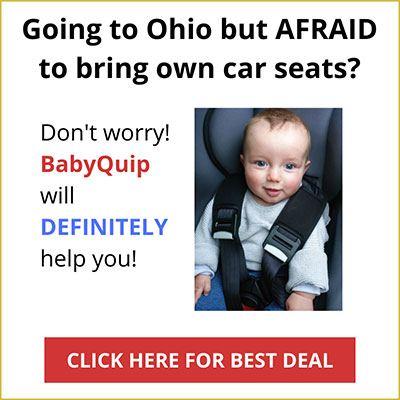 rental car seat near ohio