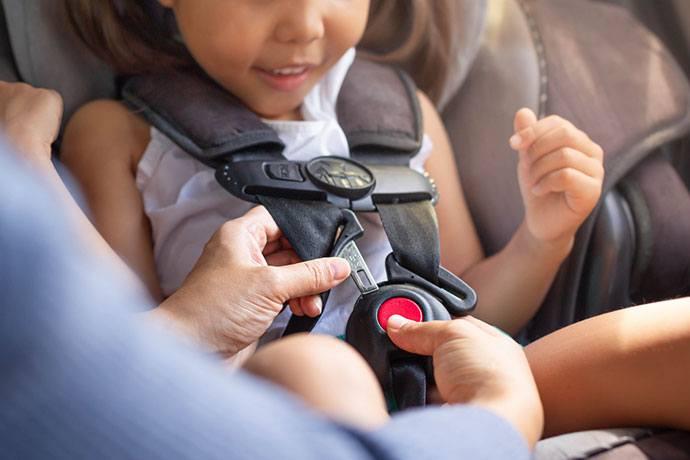 car seat belt regulations