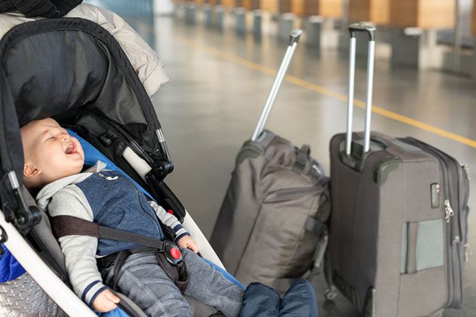 child car seat carrier for airport