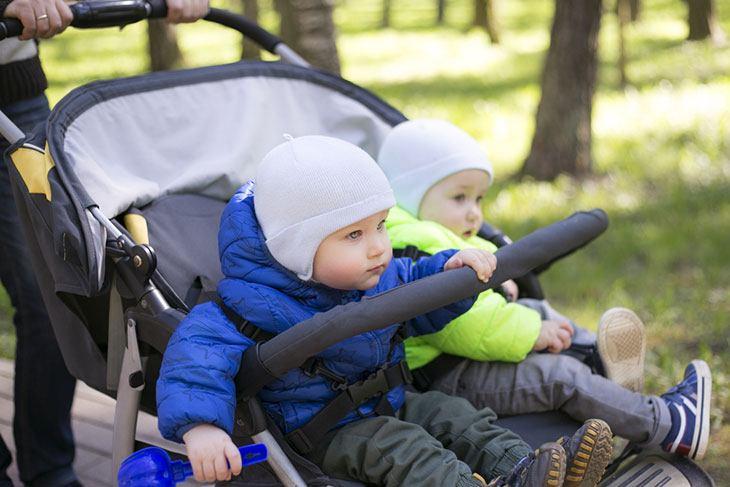 best double stroller for tall toddler