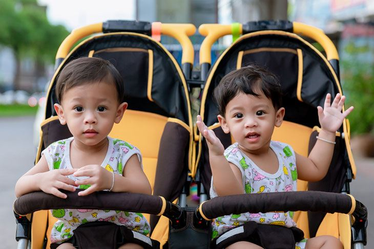 best and easiest double umbrella stroller