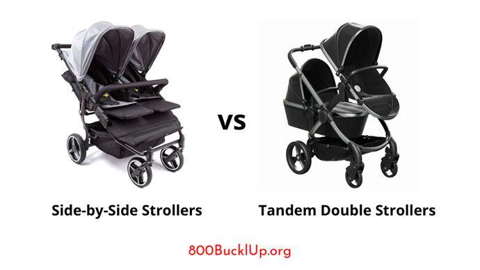 Side-by-Side Strollers vs Tandem Double Strollers