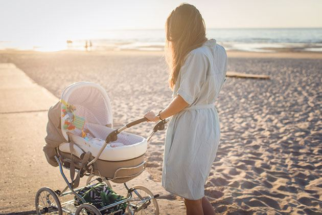 best baby stroller for tall parents