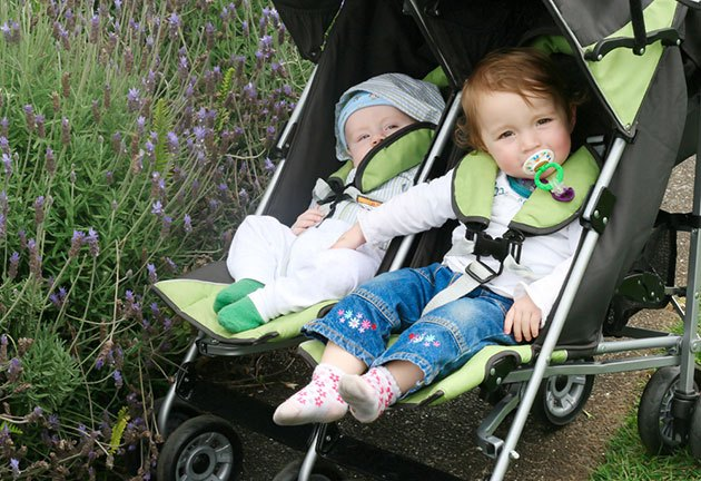 best sit and stand double stroller