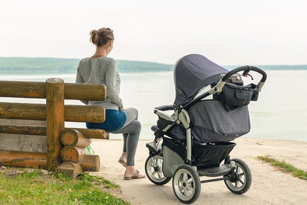 best all terrain double stroller for infant and toddler
